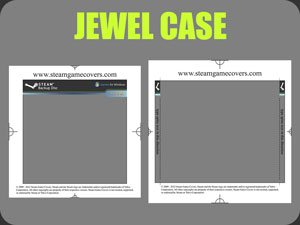 GFWL Jewel Case Template