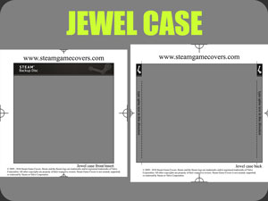 Modern Jewel Case Template