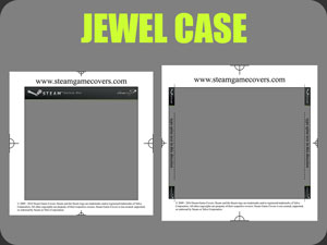 Unified Steamworks Jewel Case Template