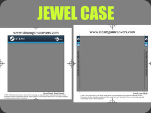 uPlay Jewel Case Template